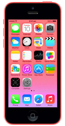 Picture of Sim Free Apple iPhone 5c