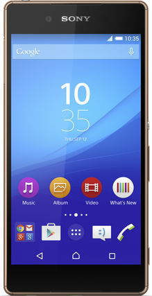 Picture of Contract Sony Xperia Z3 Plus