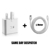 Picture of Genuine Samsung Fast Charger Plug & 1M Micro USB Data Cable For Galaxy Phones Series