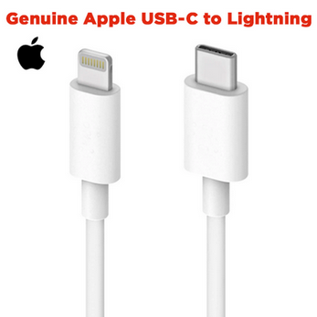 Picture of Genuine Apple USB-C to Lightning Cable   iPhone charging Cable   iPad Cable   1M