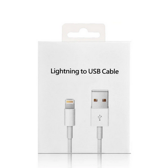 Picture of Fast Charging Apple iPhone X Charging Data USB Lighting Cable & Adapter