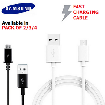 Picture of 100% Genuine Micro USB Charging Data Cable For Samsung Galaxy