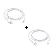 Picture of Pack Of 2 Genuine Apple iPhone 11 Fast USB Lightning Cable