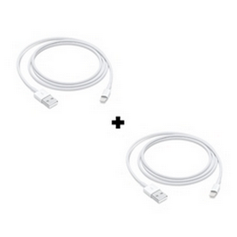 Picture of Pack Of 2 Genuine Apple iPhone XR Fast USB Lightning Cable