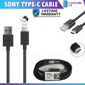 Picture of Genuine Sony Fast USB Type-C Data Charger Cable For Xperia XA1 XA2 Ultra Plus UK