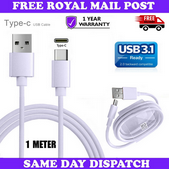 """Picture of New USB Type C Charger Cable Data Sync Lead For Apple iPad Pro 11"""" 12.9"""" 2020 UK"""
