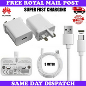 Picture of Genuine Super Fast Charger Plug & 2M Long MicroUSB Cable For Huawei P Smart 2019