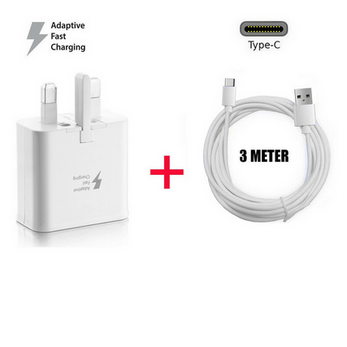 Picture of Genuine Fast Charger Plug 2M USB-C Cable For Samsung Galaxy A21 A21s A31 A41 Lot