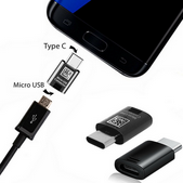 Picture of New Fast USB-C To Micro USB Converter Adapter Charger Plug For All Mobile Phones