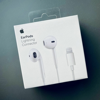 Picture of Genuine Apple EarPods Lightning Connector Headset Headphones iPhone XS X 8 7
