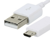 "Picture of For Huawei MEDIAPAD T3 10"" Long Charger Cable Micro USB Charging Data Sync Lead"