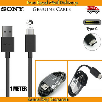 Picture of Genuine Sony UCB20 Type C USB Charging Charger Cable For Xperia XZ2 XZ X Compact