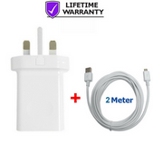 Picture of Genuine Huawei 2A Fast Charger Plug & 2M Cable For Honor 20Lite 10Lite 20i 10i