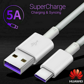 Picture of 5A Genuine Huawei USB Type-C Fast Charger  Cable P20 P30 Pro Mate 10 20 Pro