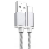 Picture of ALFA Type C Cable for all Samsung models in Black and Silver