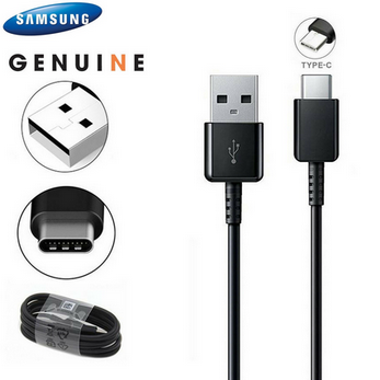 Picture of Genuine Samsung Fast TYPE C Charger Cable Data Lead For Galaxy Tab S7 / S7+ Plus