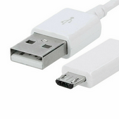 Picture of 1M Fast Micro USB 3.0 Charger Cable Lead For Samsung Galaxy A10 A10s M10 M01 Core