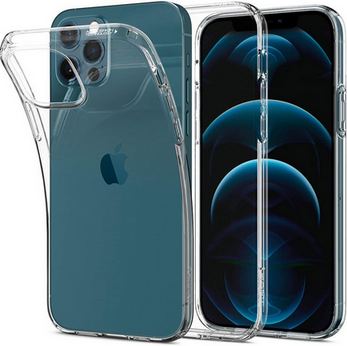 Picture of Apple iPhone 12 mini Slim silicon Transparent Back Cover