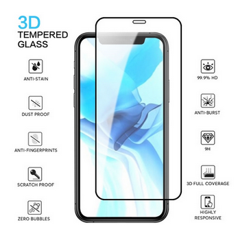 Picture of Tempered Glass Screen Protector For iPhone 11,12 Pro Max iPhone XR X XS Max