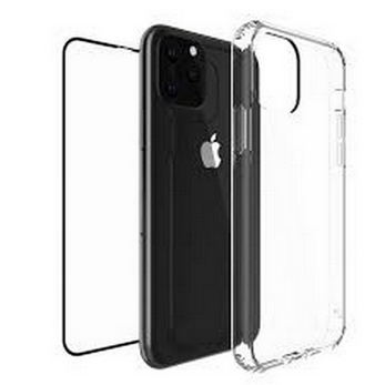 Picture of Silicone  Back Case & screen protector For Apple iPhone 11 Pro Max X XS XR 7 8 Shockproof