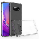 Picture of Silicon  Back Case &  glass protector For Samsung Galaxy S10 Plus.