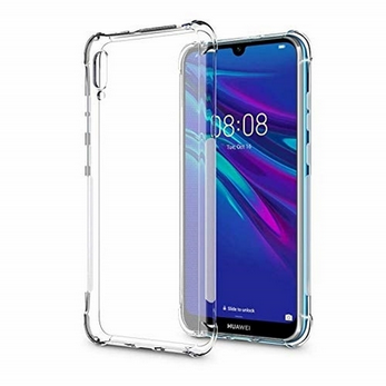 Picture of For Huawei Y6s 2019 silicon back case & screen protector.