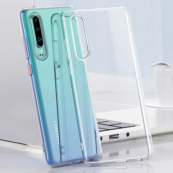 Picture of For Huawei Y7A  transparent back Case.