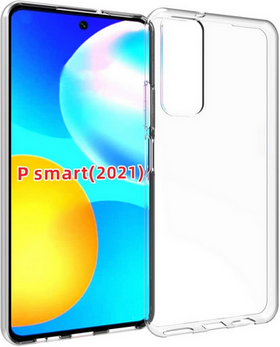 Picture of For Huawei P smart 2021  Glass Screen Protector& Transparent back case.
