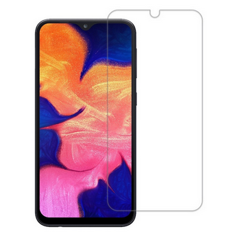 Picture of Transparent Back Case Cover + Tempered Glass Screen Protector For Samsung Galaxy A30