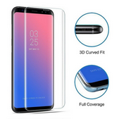 Picture of Full Transparent Back Case & Screen Protector For Samsung Galaxy S9 Plus